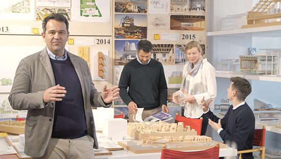 Interview mit Paolo Pelanda und Elizabetta Trezzani (RPBW)