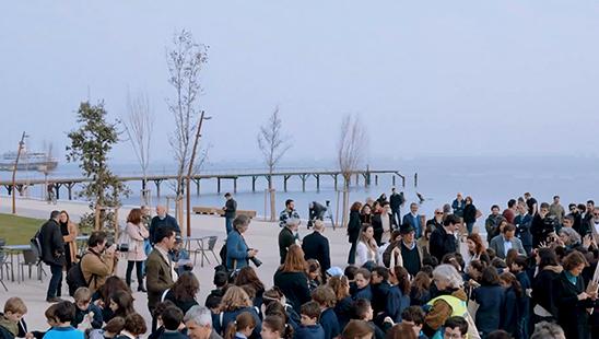Inauguration du Parque Ribeirinho Oriente